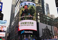 你好纽约!来自中国蒙北燕麦的问候——新华网